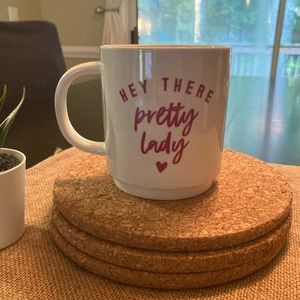 NWT Pretty Lady Mug